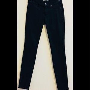 Black coated  Sheen jeans